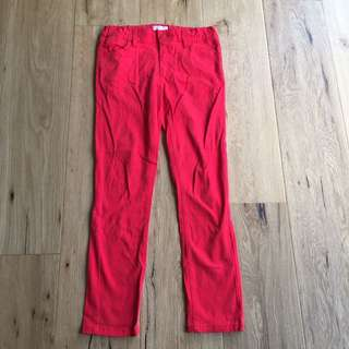 Pumpkin Patch Red Jeans