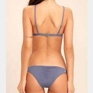 Rhythm Bikini Bottom Blue Size 8