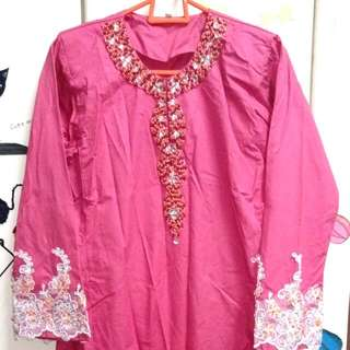 #NYB50 Lace Beaded Baju Kurung