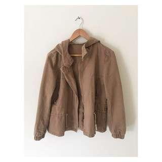 Tan Jacket | Size 12