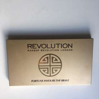 Makeup Revolution 'Fortune Favours The Brave' Eyeshadow Palette