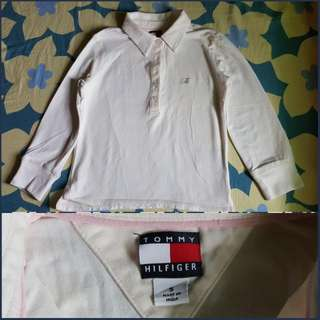 Tommy Hilfiger Polo Shirt Long sleeves For Girls