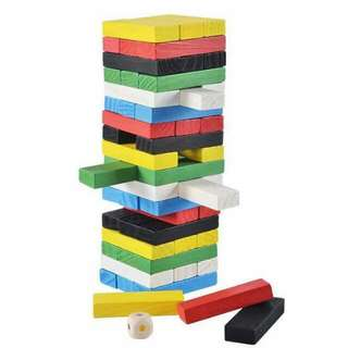 Color-Coded Jenga