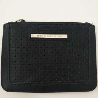 Small Black Clutch /Wallet