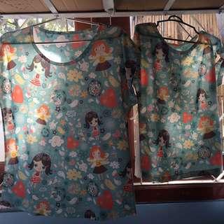Kaos Kembar Ibu Dan Anak