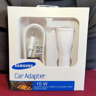 🏆CAR FAST CHARGER! For Note 4/S6/Note 5 and All Apple Products!!