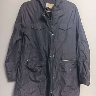 Michael Kors Grey Rain Jacket