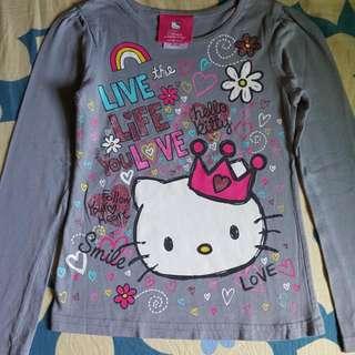 Hello Kitty Long Sleeves Shirt For Girls