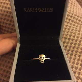 Karen Walker Skull Ring