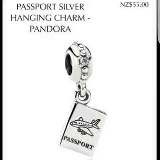Pandora Passport Charm