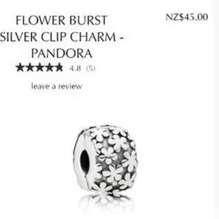Pandora Flower Burst Spacer