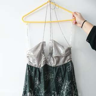 Low-backed cocktail dress