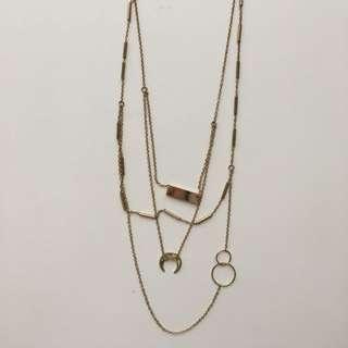 ZARA layer necklace
