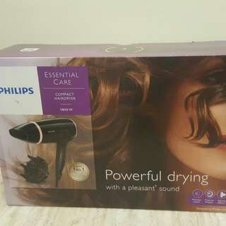 Philips Compact Hairdryer 1800w