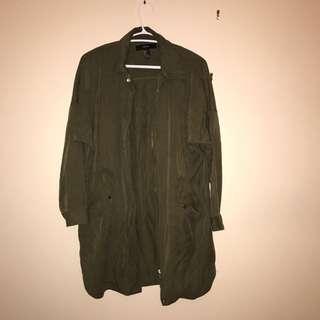 Green Trooper Jacket