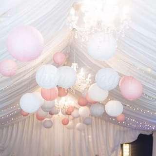 Paper Lanterns / Party / Wedding Decoration