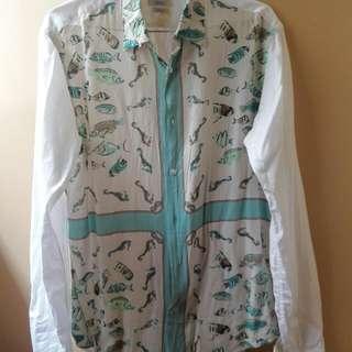 Preloved Zara Man Slim Fit Polo