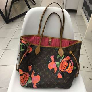 PRELOVED Louis Vuitton Stephen Sprouse Roses