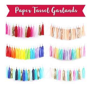 Paper Tassels Garlands