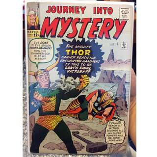 Journey Into Mystery #92 (1st Appearance of Frigga - Thor's Mother)