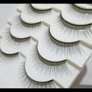 Fake Eyelash/ Bulu Mata Palsu Natural