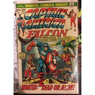 Captain America #154