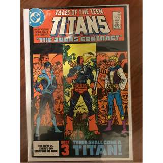 Tales of The New Teen Titans #44 (1st Nightwing Appearance) - Signed by Dick Giordano