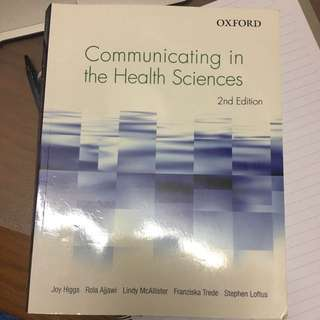 Communicating In Health Sciences 2nd Edition