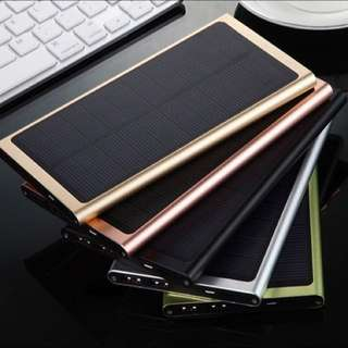 Solar Panel Portable PowerBank!