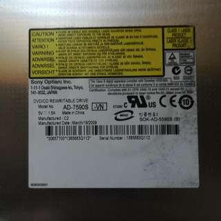 Sony Optiarc DVD/CD Re-writer ROM Internal Sony Vaio VGN CS26G Laptop