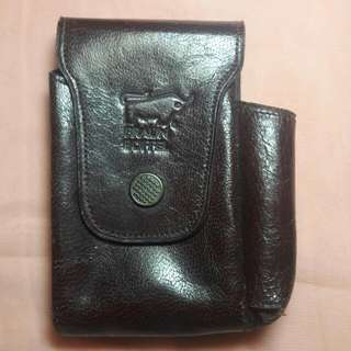 Dompet/kantong Braun Buffel authentic