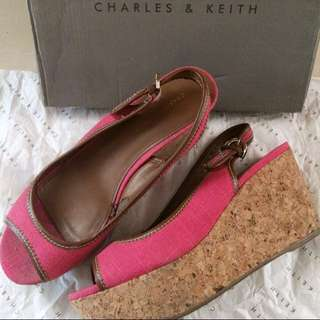 SALE Charles n keith wedges
