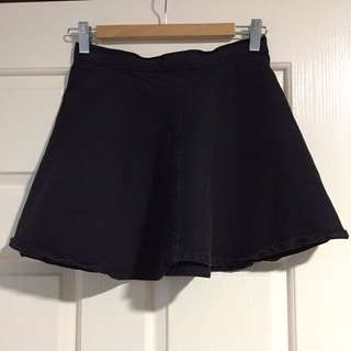 American apparel Skater skirt Denim