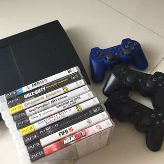 PS3 10 Original Games only