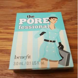 Benefit Cosmetics the POREfessional face primer Sample Size 3.0 mL New + AUTH