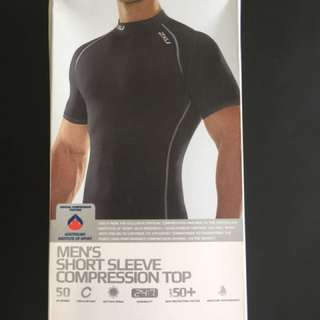 Men's Short Sleeve Compression Top