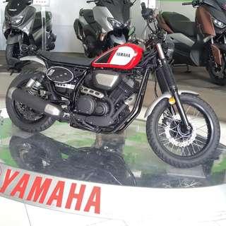 New Yamaha ScR950