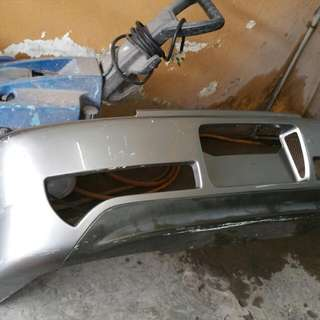 S2000 ASM rear Bumper With Carbon Diffuser