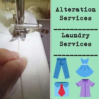 Alteration & Redesigning & Laundry Services
