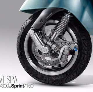 Frando Brake System For Vespa Gts And Sprint