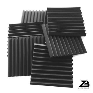 6pcs x ZEROBLAC Horus - Wedge Acoustic Foam Soundproof - (Premium Polyurethane)