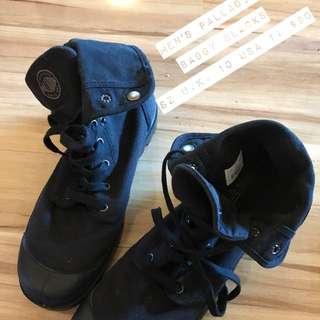 Palladium Baggy Black Shoes