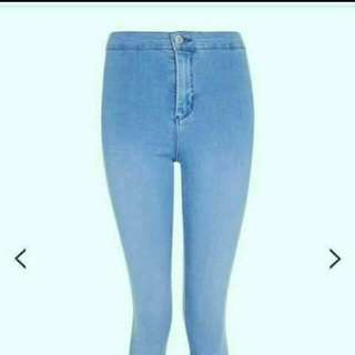 Authentic blue joni jeans