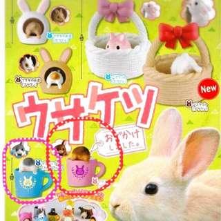 扭蛋 日本 兔子 動物