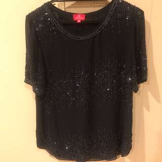 Sequin Ladies Indian Made Top