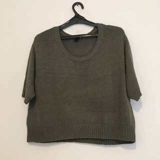 H & M Cropped Sweater