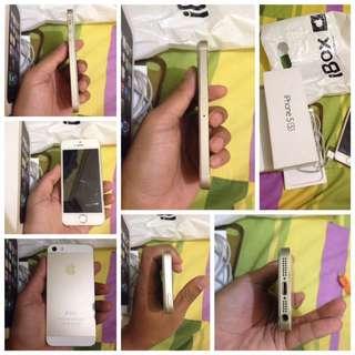 Wts Iphone 5s Gold Bu