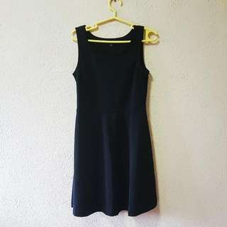UNIQLO Black Skater Dress