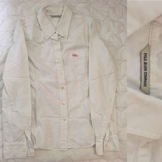 Polo Jeans White LS