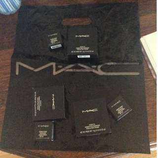 MAC Foundation and Concealer Packs RRP: $84